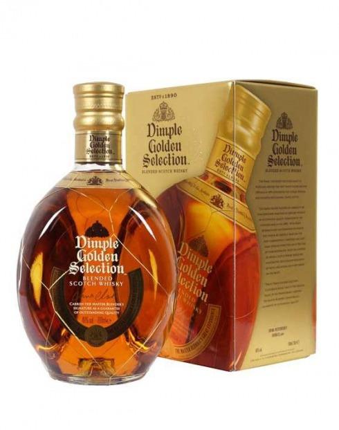 Garcias - Vinhos e Bebidas Espirituosas - WHISKY DIMPLE GOLD SELECTION C/ CAIXA 1