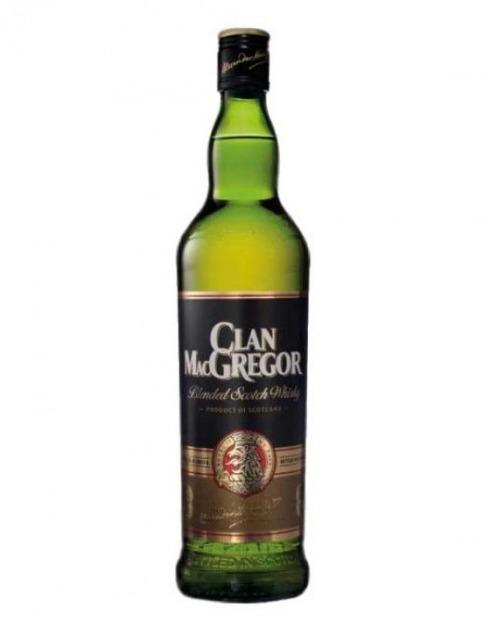 Garcias - Vinhos e Bebidas Espirituosas - WHISKY CLAN MACGREGOR 1