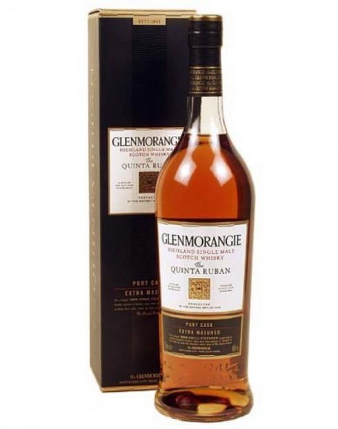 Garcias - Vinhos e Bebidas Espirituosas - WHISKY MALTE GLENMORANGIE QTA RUBAN CASK 12A C/CX 1