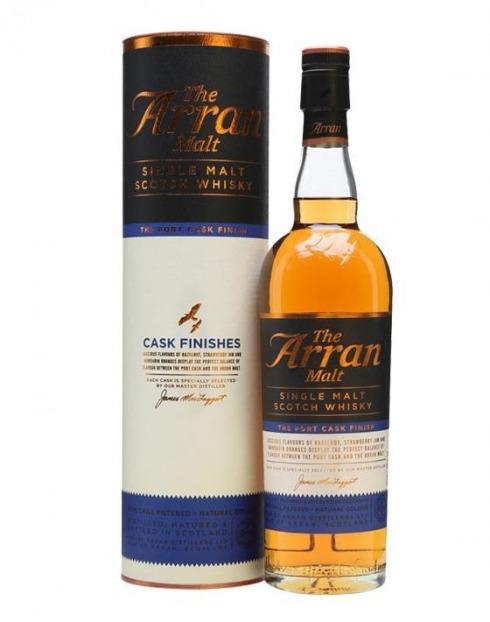 Garcias - Vinhos e Bebidas Espirituosas - WHISKY MALTE ARRAN PORT CASK FINISH   1