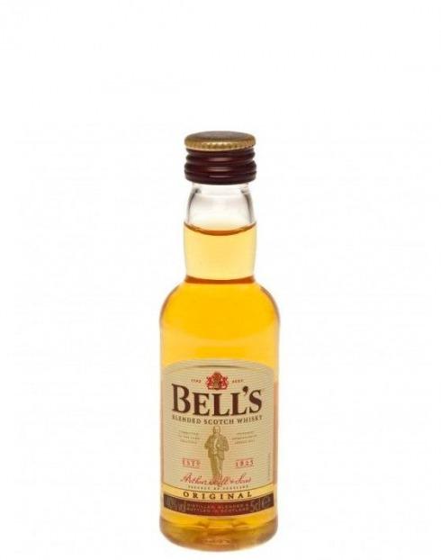 Garcias - Vinhos e Bebidas Espirituosas - WHISKY BELLS C/R 0.05L 1