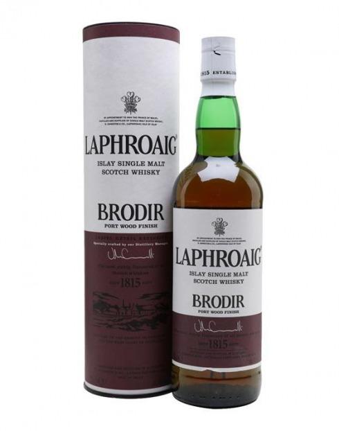 Garcias - Vinhos e Bebidas Espirituosas - WHISKY MALTE LAPHROAIG BRODIR 1