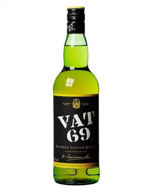 Garcias - Vinhos e Bebidas Espirituosas - WHISKY VAT 69 1