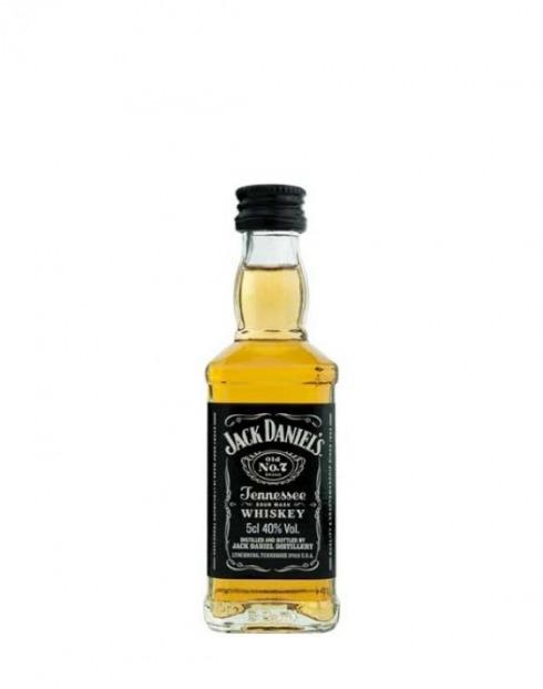 Garcias - Vinhos e Bebidas Espirituosas - WHISKY BOURBON JACK DANIELS PET MINIATURA 1
