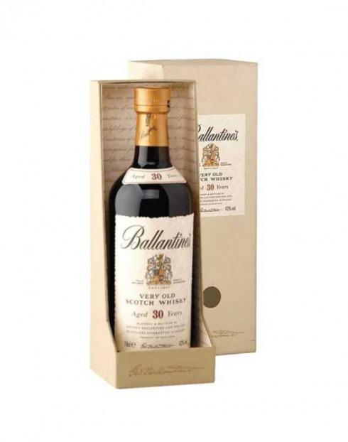Garcias - Vinhos e Bebidas Espirituosas - WHISKY BALLANTINES 30 A C/CX  1