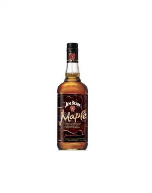 Garcias - Vinhos e Bebidas Espirituosas - WHISKY BOURBON JIM BEAM MAPLE  1