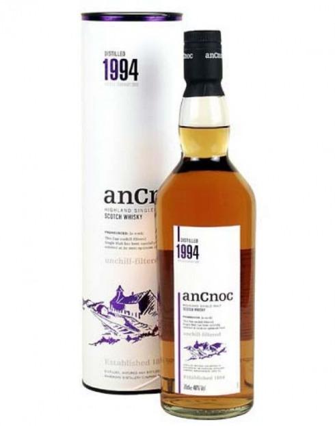 Garcias - Vinhos e Bebidas Espirituosas - WHISKY MALTE AN CNOC 1994 UNCHILLFILTERED  1