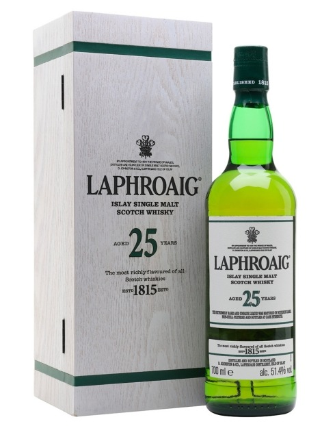 Garcias - Vinhos e Bebidas Espirituosas - WHISKY MALTE LAPHROAIG 25 A  1