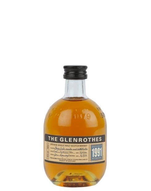 Garcias - Vinhos e Bebidas Espirituosas - WHIKSY MALTE GLENROTHES VINTAGE 1991 MINIATURA 1