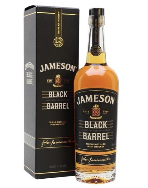 Garcias - Vinhos e Bebidas Espirituosas - WHISKY JAMESON BLACK BARREL C/ CAIXA  1
