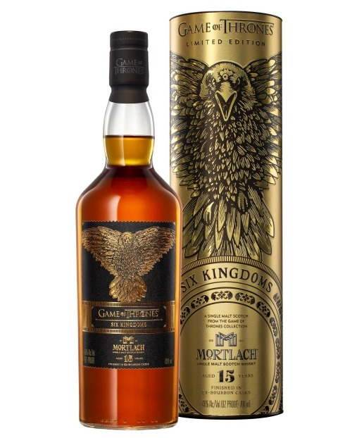 Garcias - Vinhos e Bebidas Espirituosas - WHISKY MALTE MORTLACH 15 ANOS 6 KINGDOMS  GAME OF THRONES COLLECTION 1 Imagem Zoom