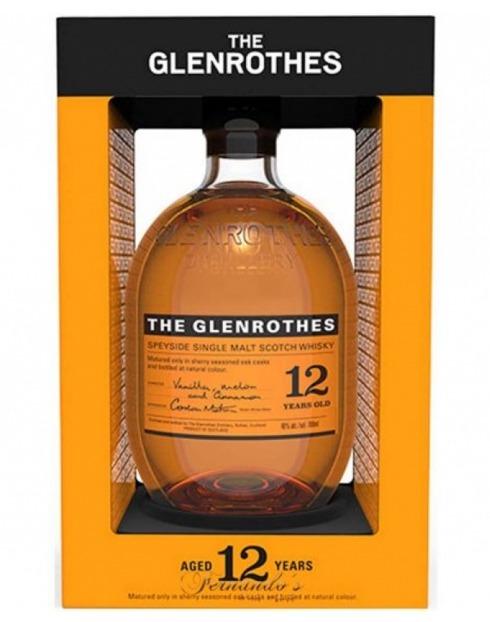 Garcias - Vinhos e Bebidas Espirituosas - WHISKY MALTE GLENROTHES 12 ANOS 1