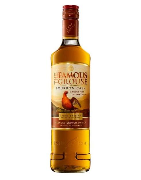 Garcias - Vinhos e Bebidas Espirituosas - WHISKY FAMOUS GROUSE BOURBON CASK S/ CAIXA 1
