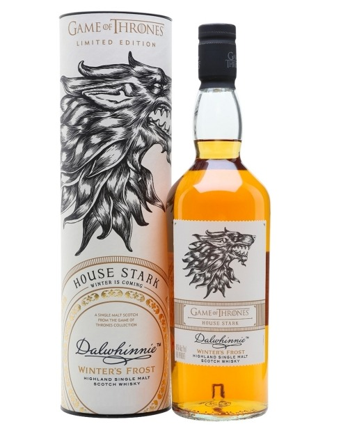 Garcias - Vinhos e Bebidas Espirituosas - WHISKY MALTE DALWHINNIE STARK WINTER'S FROST GAME OF THRONES COLLECTION 1