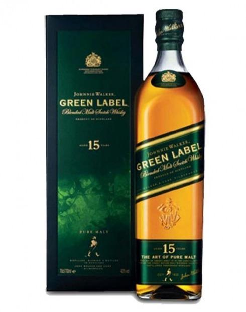 Garcias - Vinhos e Bebidas Espirituosas - WHISKY MALTE JOHNNIE WALKER GREEN 15A  1