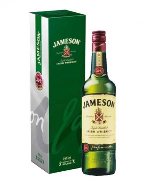 Garcias - Vinhos e Bebidas Espirituosas - WHISKY JAMESON C/ CAIXA 1