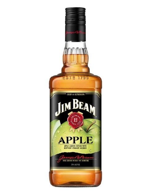 Garcias - Vinhos e Bebidas Espirituosas - WHISKY BOURBON JIM BEAM APPLE 1L 1