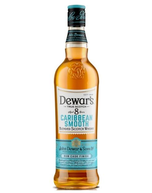Garcias - Vinhos e Bebidas Espirituosas - WHISKY DEWAR'S 8A CARIBBEAN SMOOTH 1